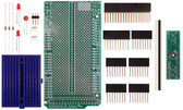 SchmartBoard|ez 0.5mm Pitch, 56 Pin QFP & QFN to DIP adapter  Arduino Mega Shield Kit (206-0001-19)
