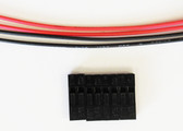 """Schmartboard Qty 4 Two Prong Female to Female Cable Harness With four 12"""" Cables(920-0173-01)"""