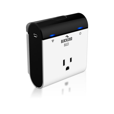 THE BUZZI SMART SWITCH ALLOWS YOU TO CONTROL ELECTRONIC DEVICES FROM YOUR SMART DEVICE.