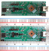 REV A. SCHMARTBOARD PSOC 5LP DEVELOPMENT BOARD (WITH BOOT LOADED PSOC 5LP IC) 710-0008-05C