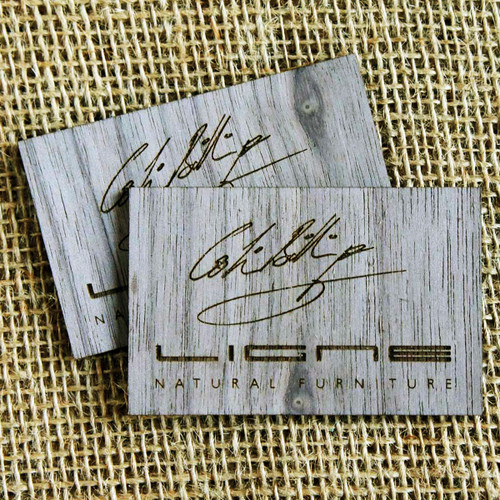 Cam graphic wooden business cards uk engraved birch plywood wooden engraved business cards walnut wood veneer business cards reheart Gallery