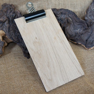 Wooden Clipboards in a selection of sizes - all supplied with bulldog clip