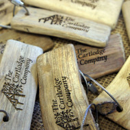 Engraved Driftwood Keyring with screw connector - ideal for seaside hotels, pubs and B&Bs