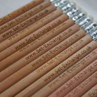 Engraved Long Round Pencils - ideal promotional items