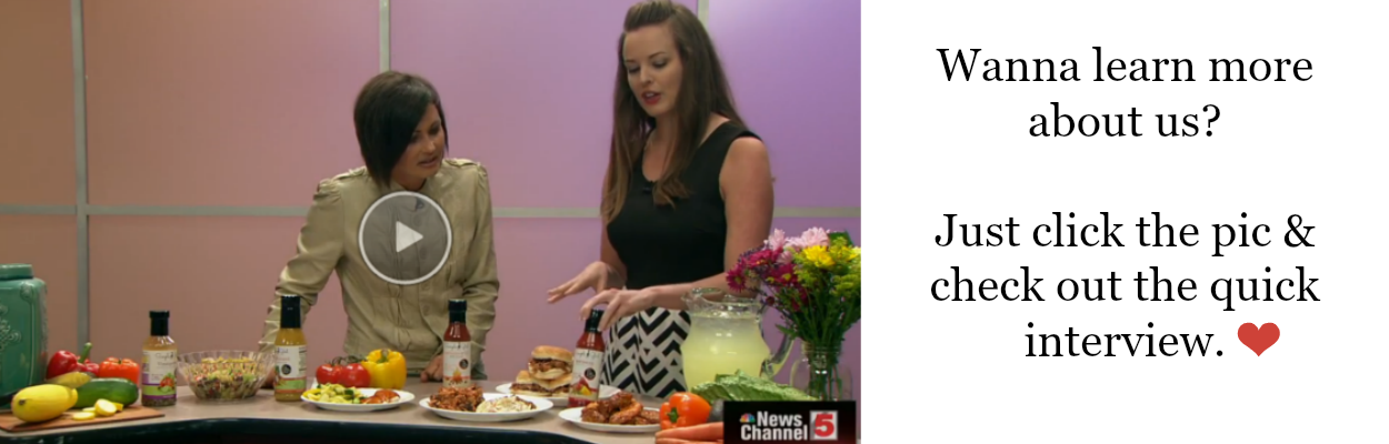 Simple Girl Natural BBQ Sauce and Dressing on the News