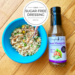 Simple Girl's dressings are vegan as well as sugar-free and all-natural! Perfect for even the strictest eating plans!