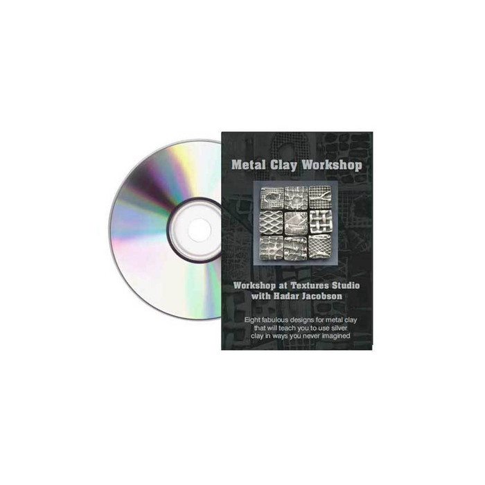 Metal Clay Workshop at the Textures Studio Hadar Jacobson DVD