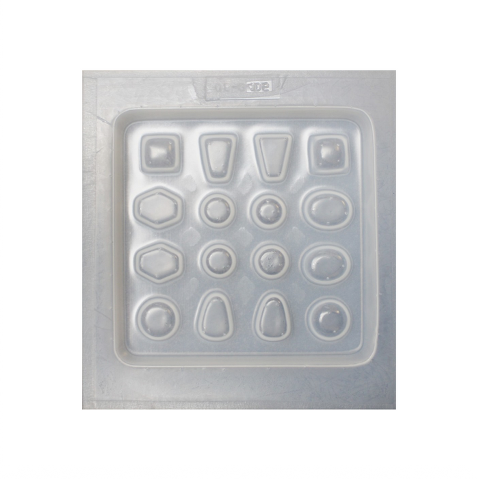 Resin mould - Assorted Jewels - 16 in 1