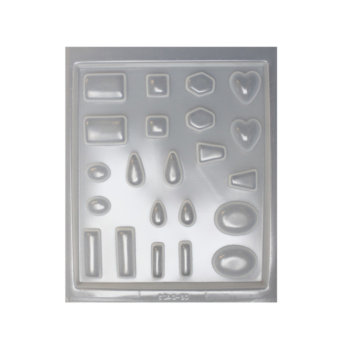 Resin mould - Assorted Jewels - 22 in 1