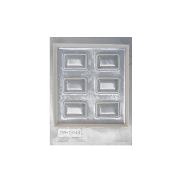 Resin mould - Rectangles - Small - 6 in 1