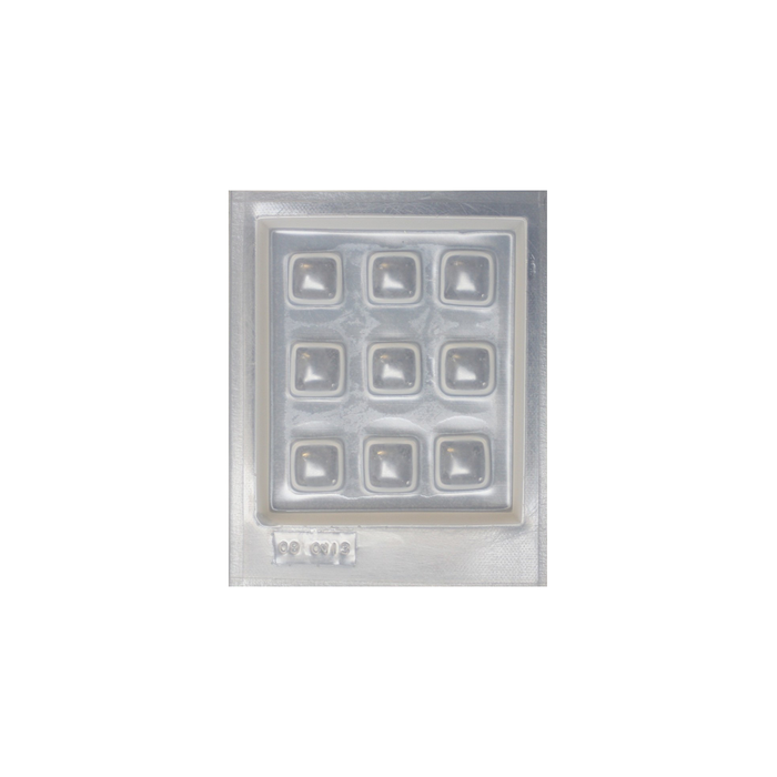 Resin mould - Squares - 9 in 1