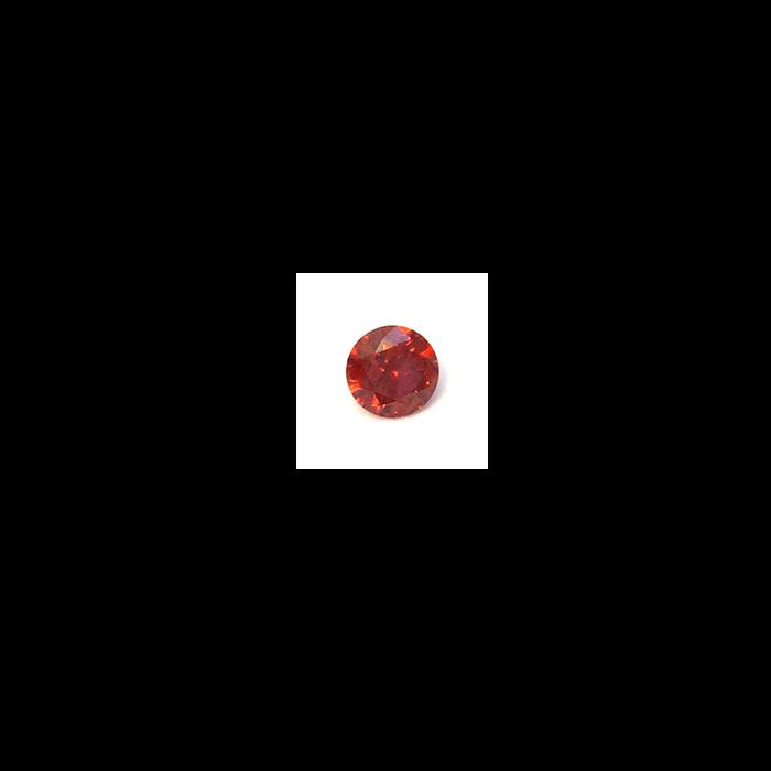 Lab Created Gemstone - Garnet Round