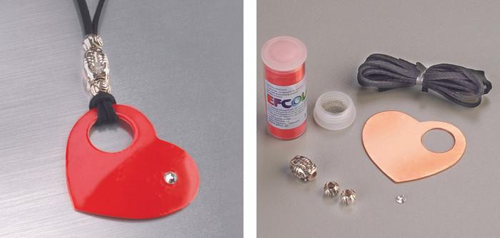 Efcolor Jewellery Set - Heart