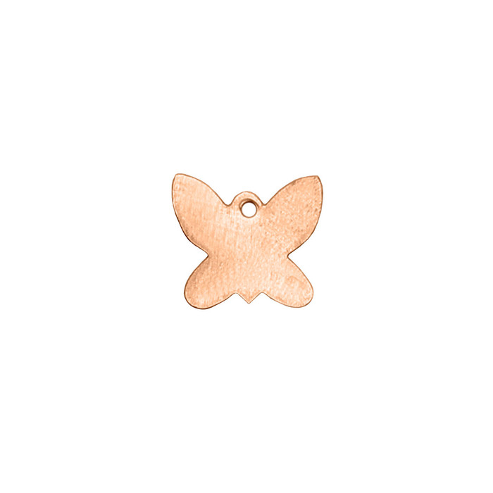 Copper Blank - Butterfly - 14 x 13mm