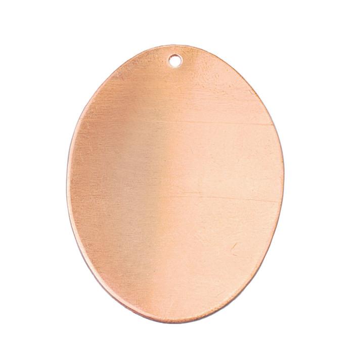Copper Blank - Oval - 41 x 31mm