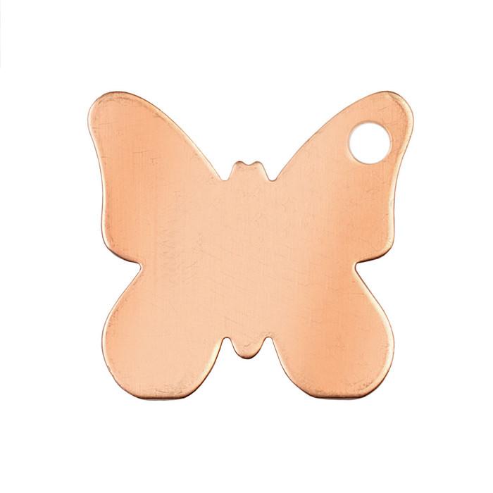 Copper Blank - Butterfly - 38 x 38mm