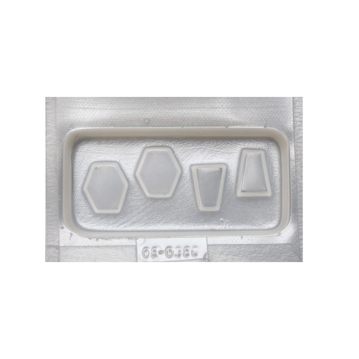 Resin Mould - Assorted Jewels - 4 in 1