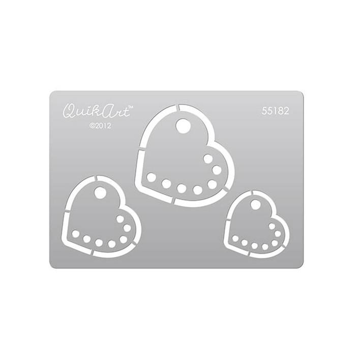QuikArt Clay Saving Template - #55182