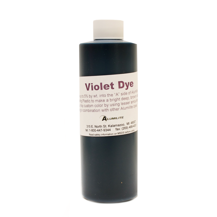 Large Alumilite Dye Violet - 177ml (6 fl.oz)
