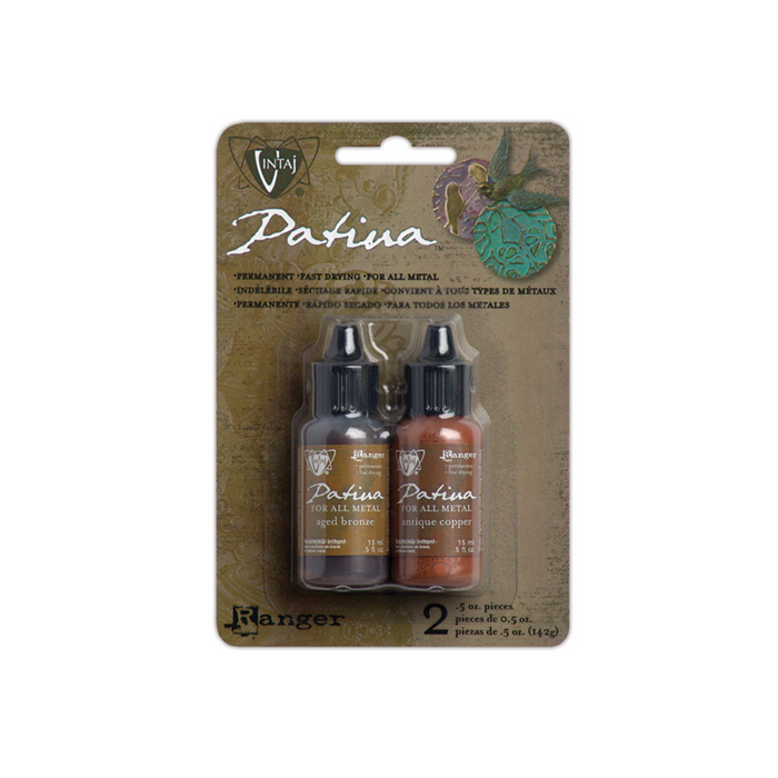 Vintaj Patina Kit - Ancient Coin, 2pk