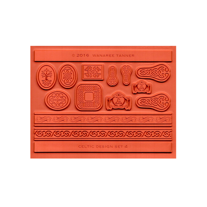 Wanaree Tanner Signature Texture Plate - Panels & Frames (Celtic 4)