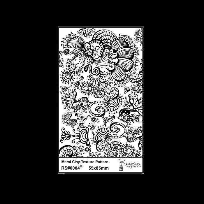RS Laser Texture Paper - Art Nouveau