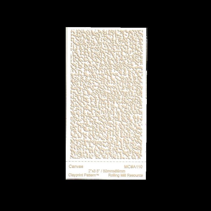 RMR Laser Texture Paper - Canvas - 50 x 89mm
