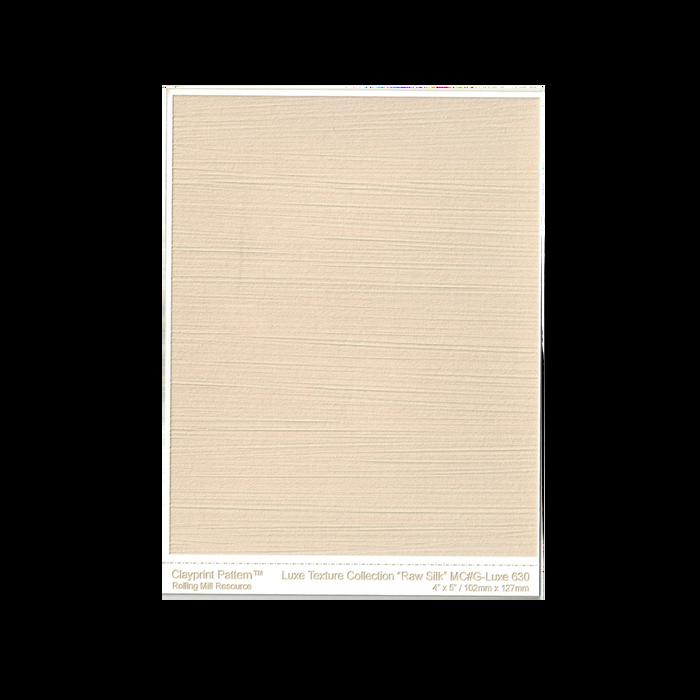 RMR Laser Texture Paper - Luxe Raw Silk - 102 x 127mm