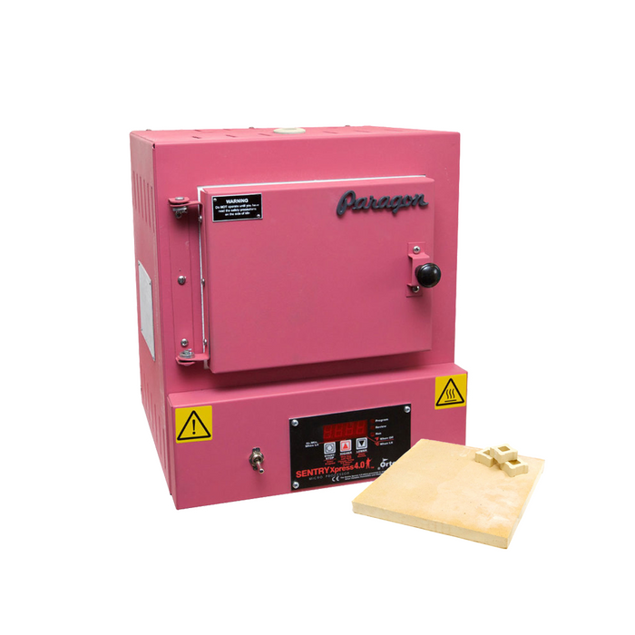 Paragon SC2 Programmable Kiln With Shelf Kit - Hot Pink