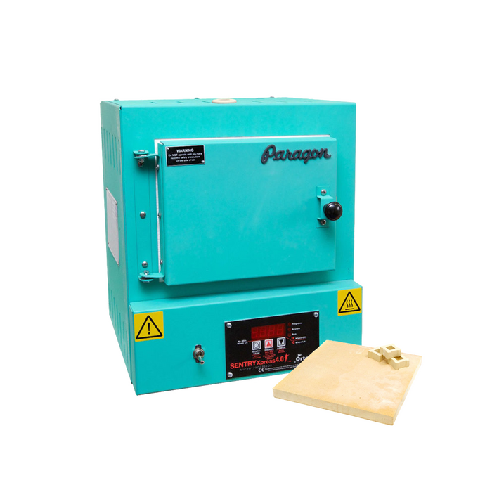 Paragon SC2 Programmable Kiln With Shelf Kit - Turquoise