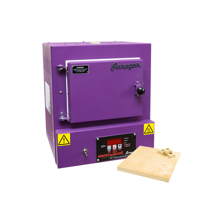 Paragon SC2 Programmable Kiln With Shelf Kit - Purple
