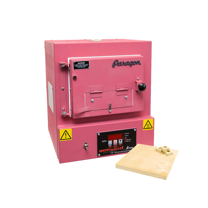 Paragon SC2 Programmable Kiln w/ Bead Door and Shelf Kit - Hot Pink