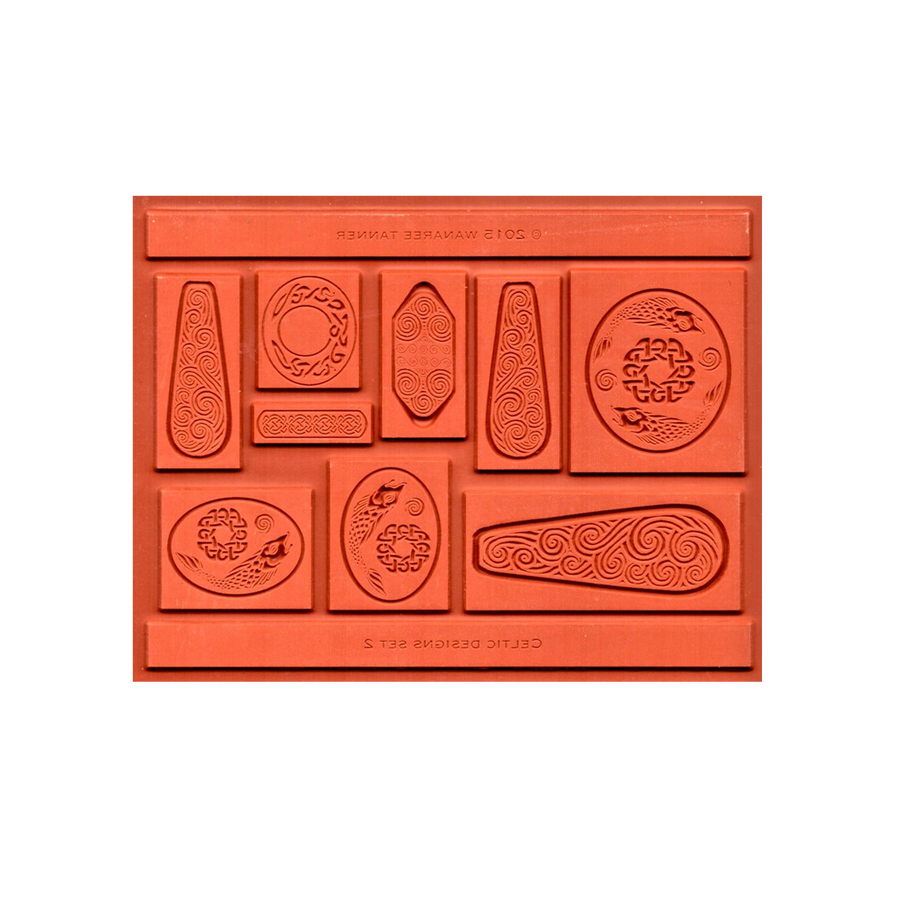 Wanaree Tanner Signature Texture Plate - Salmon of Knowledge (Celtic 2)