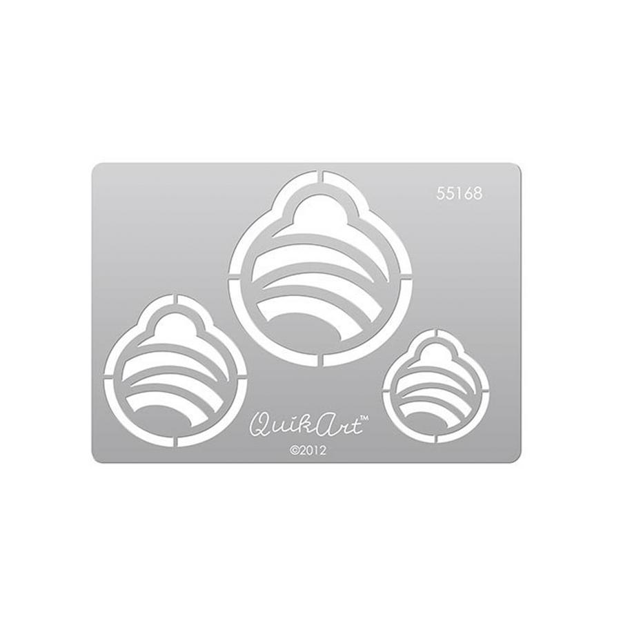 QuikArt Clay Saving Template - #55168