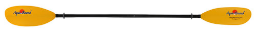 Aquabound Manta Ray Kayak Paddle - Carbon Blade with 2-Piece Carbon Shaft with Posi-Lok