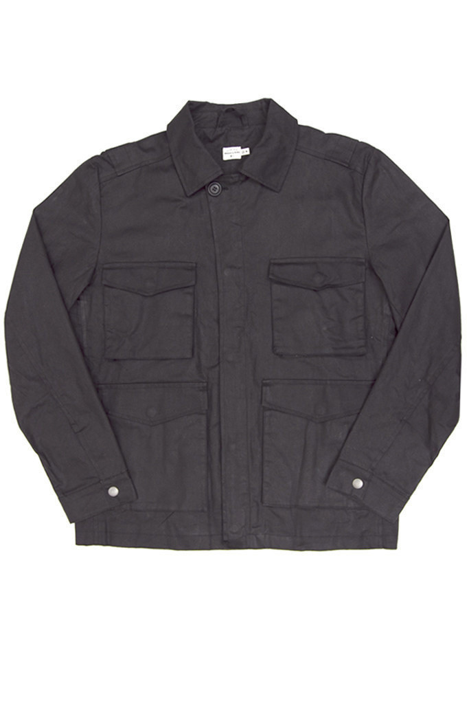 Adams Waxed Coat Coal