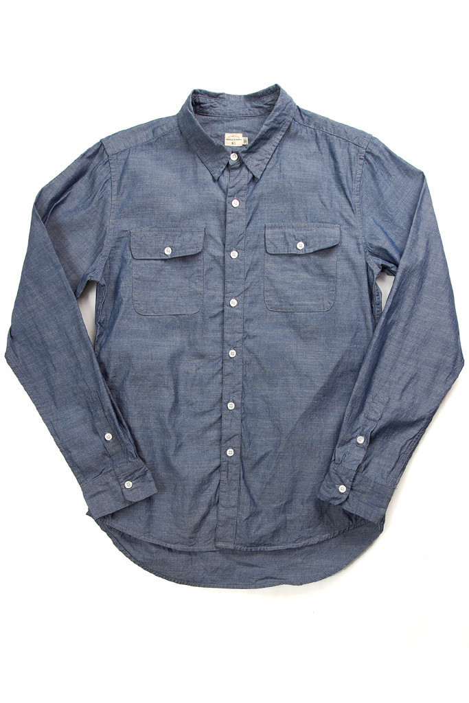 Franklin Blue Chambray