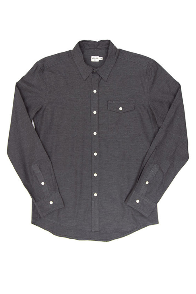 Clinton Dark Gray Shirt