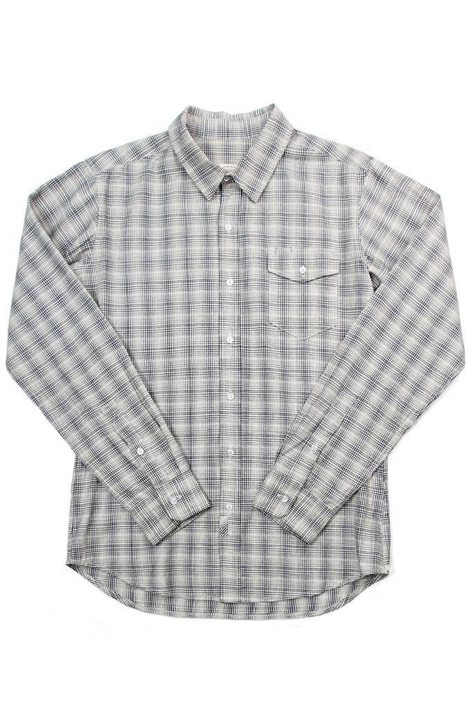 Clinton Indigo Plaid Shirt