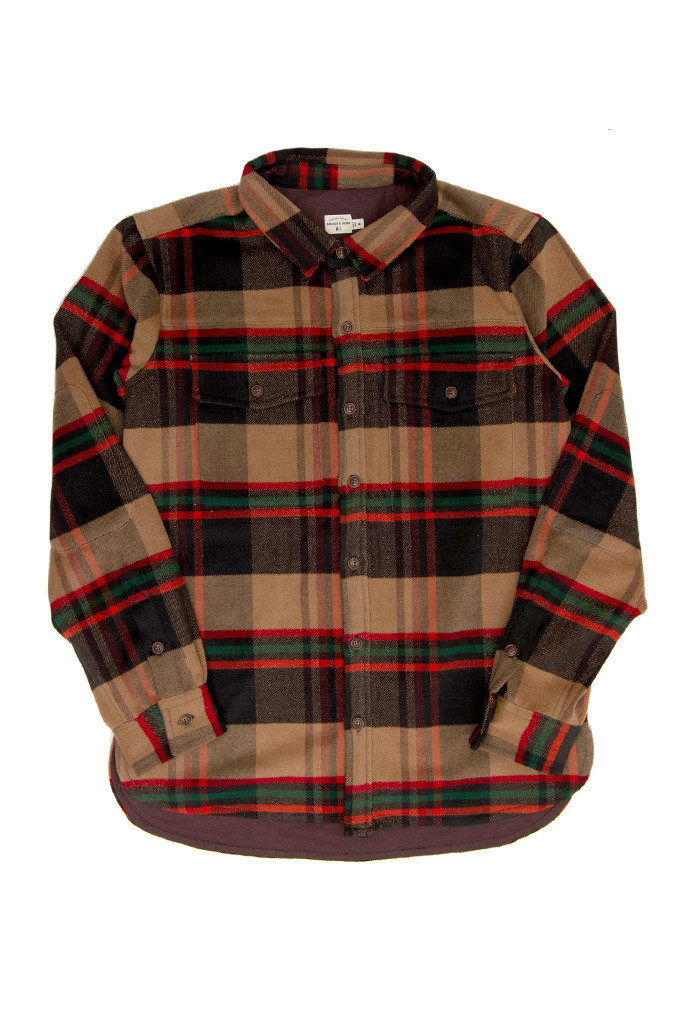 Flint Plaid Overshirt