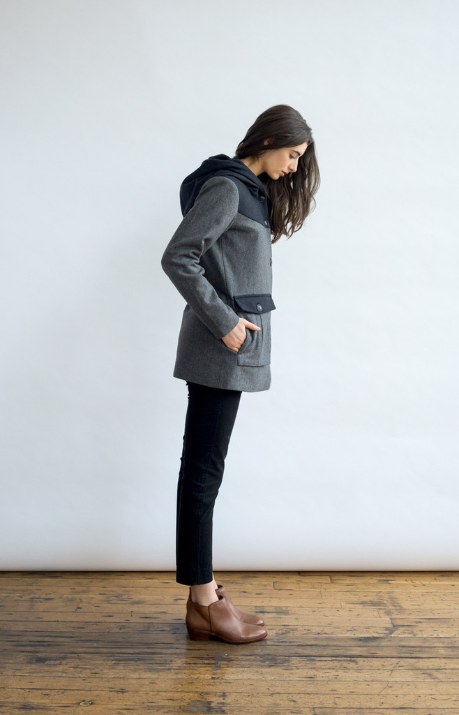Belfair Grey Wool Jacket