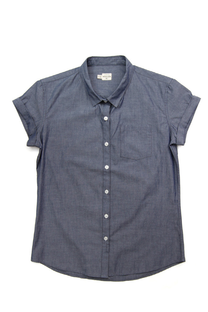 Bea Blue Chambray Shirt
