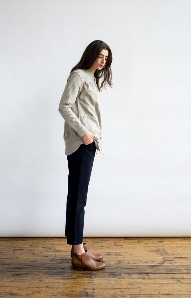 Isabel Ash Grey Shirt