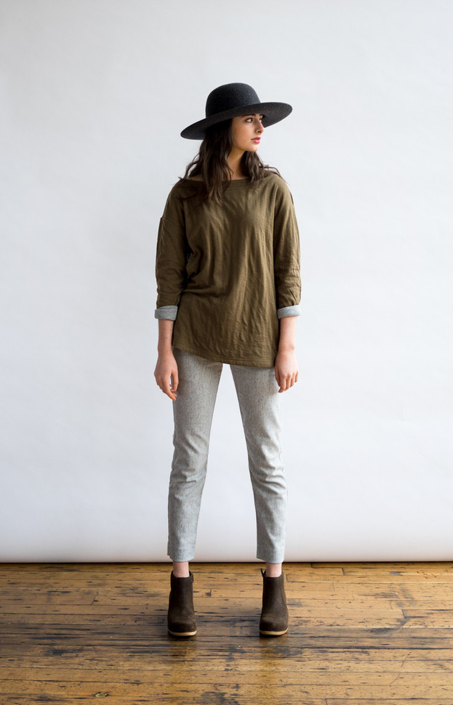 Amherst Olive Shirt