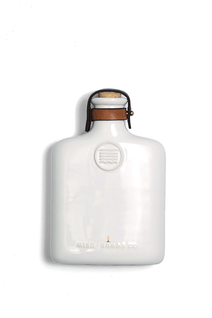Misc. Good Co. Ceramic Flask