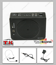 VoiceBooster MR2800 (Aker) 16watt Voice Amplifier with Built-in MP3 Player and FM radio