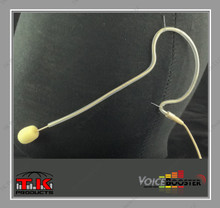 VoiceBooster Low Profile Light-Weight Single Ear-Hook Omnidirectional Microphone