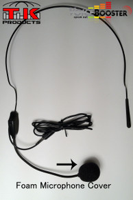 VoiceBooster Foam Microphone Tip Cover (Aker)