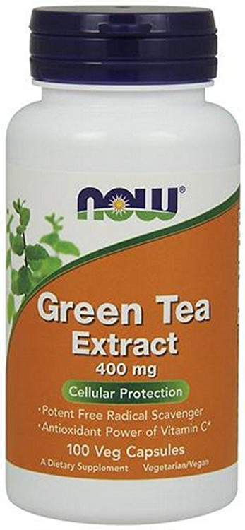 Green Tea Extract, 400 mg (100 Caps) - NOW Foods