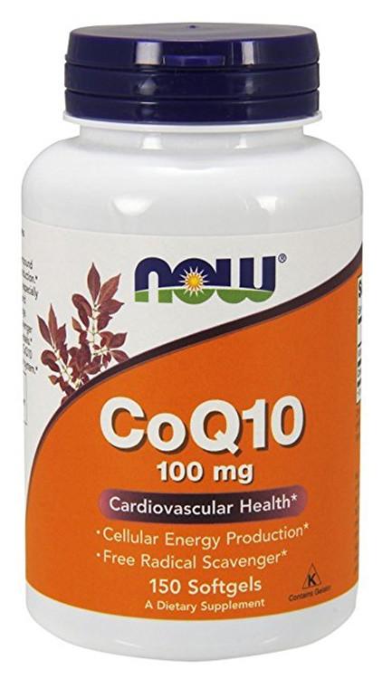 CoQ10, 100 mg (150 Sgels) - NOW Foods